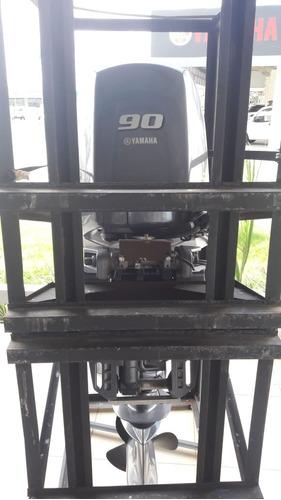 Motor De Popa Yamaha F 90 Hp Fehds 4 Tempos