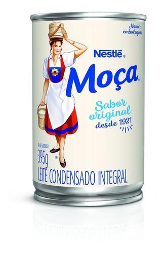 Imagem 1 de 1 de Leite Condensado Moça Lata 395g
