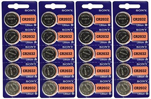 Sony Cr2032 Litio Coin Cell 3v 20 Piezas