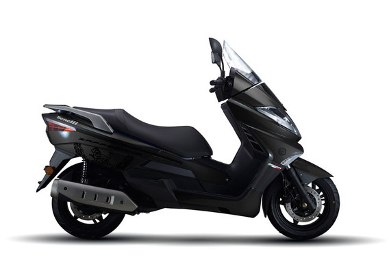 Benelli Zafferano 250 Scooter Gris (daelim S3, Kymco People)