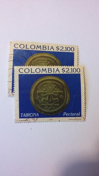 Estampillas Colombia