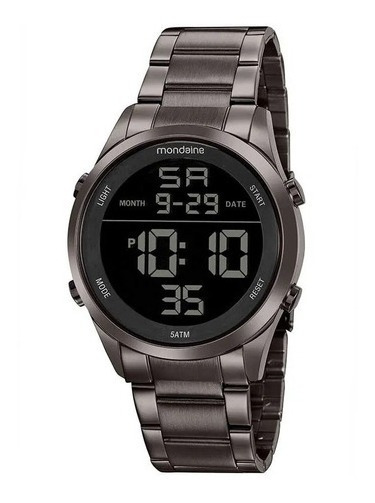 Relógio De Pulso Unisex Mondaine 53965gpmvse2