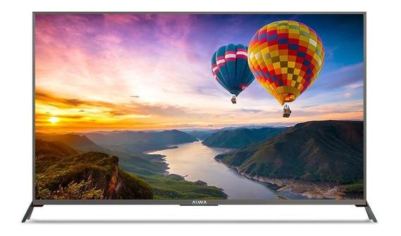 Televisor Aiwa De 50 Smart Tv 4k Ultra Plano Tienda Fisica