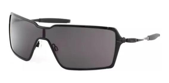 Oculos De Sol Probation Preto Polarizado Metal + Teste 12x