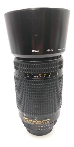Lente .objetiva Nikon 70-300mm