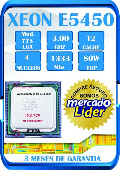 Processador Xeon E5450 Modificado Para Lga775 Gammer