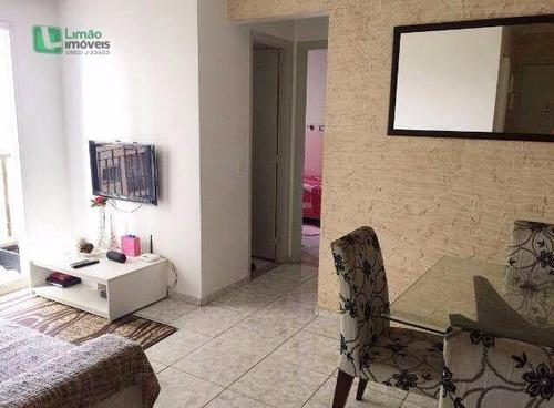 Apartamento Residencial À Venda, Lauzane Paulista, São Paulo. - Ap0658