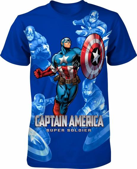Kit 25 Camisa Infantil Menino Personagens Heróis Vingadores