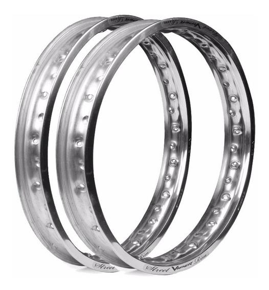 Par De Aro Aluminio Street Viper Cg Fan Titan Factor Ybr Tod