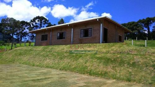 Imagem 1 de 11 de Chácara Com 3 Dormitórios À Venda, 1000 M² Por R$ 950.000,00 - Zona Rural - Santo Antônio Do Pinhal/sp - Ch0349