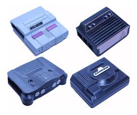 15 Cases Raspberry Pi 2/3 Atari-ps1-mega Driver-n64