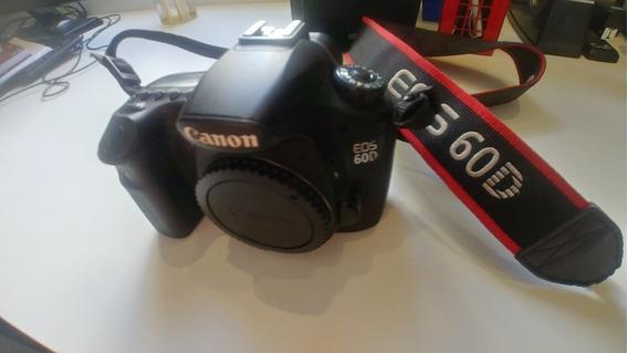 Câmera Dslr Canon Eos 60d. Filma E Faz Video. Câmera Top