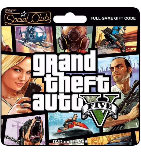 Grand Theft Auto 5 Gta 5 V Juego Pc Original Español Online