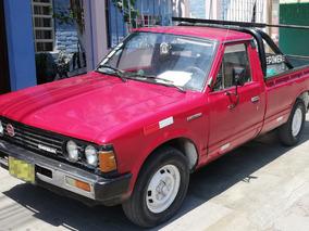 Pendiente Camioneta Pickup Datsun Roja Del 84