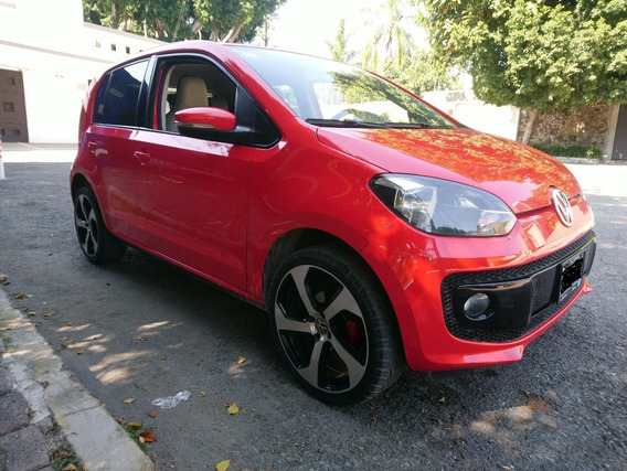 Volkswagen Up! High Piel 3cil Std Clima Airbags Seminuevo