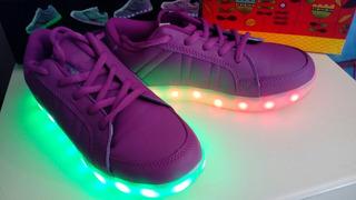Zapatillas Con Led!!!