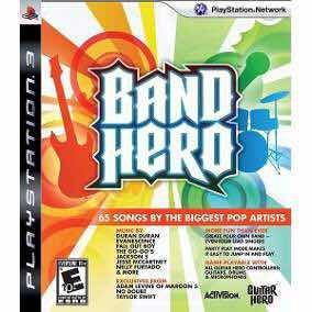 Band Hero Ps3 Novo Lacrado Alemão Games