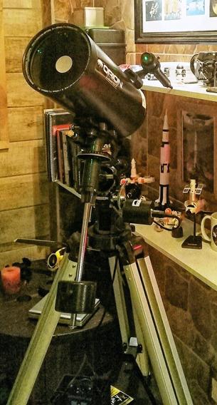 Telescópio Órion Maksutov-cassegrain Mk127 Eq Com Motor