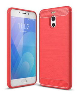 Protector Meizu Note M6 Color Rojo
