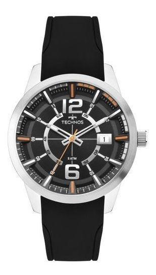 Relógio Technos Masc Racer Prata 2315kzx/0p