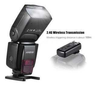 Flash Speedlite Ad 560 Iv Andoer Con Trasmisor (canon,nikon)
