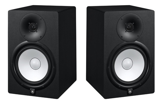 Monitor Yamaha Hs7 Hs 7 Ativo Preto 95w 110v ( Par )