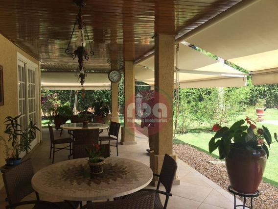 Maravilhosa Casa À Venda, 892 M² Por R$ 6.990.000 - Condomínio Terras De São José - Itu/sp - Ca1826