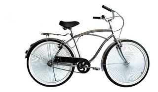 Bicicleta Urbana Bala De Plata Rodada 26