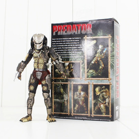 Action Figure Boneco Predador Predator Jungle Hunter Neca