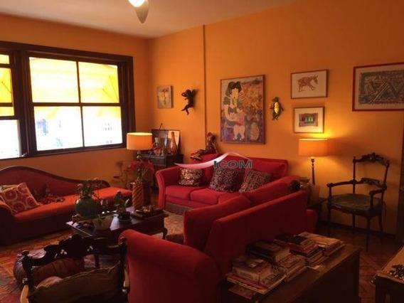 Apartamento Com 3 Dormitórios Para Alugar, 150 M² Por R$ 3.700,00/mês - Laranjeiras - Rio De Janeiro/rj - Ap4164