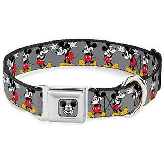 Collar Para Perros Buckle Down Collar Dybt-mickey Mouse W/gl