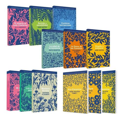 Clarín Colección Literatura Romántica Set 5 De 12 Libros