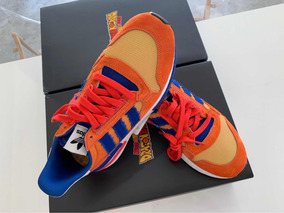 Sneakers Zx 500 Dragon Ball Z Son Goku Originales