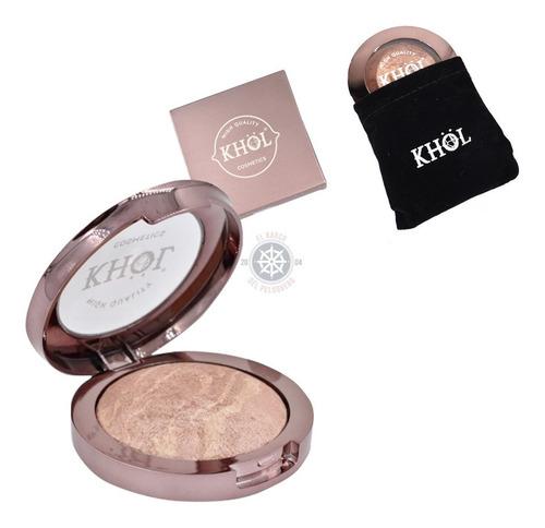 Iluminador Profesional Khol Cosmetics Color #1 + Espejo