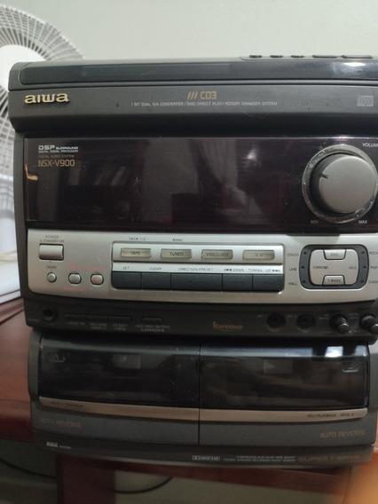 Micro System Som Aiwa Nsx V900