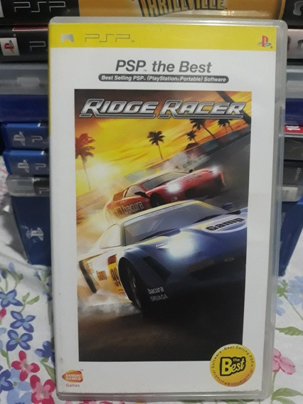 Ridge Racer Jogo Raro Mídia Física Para Playstation Portátil