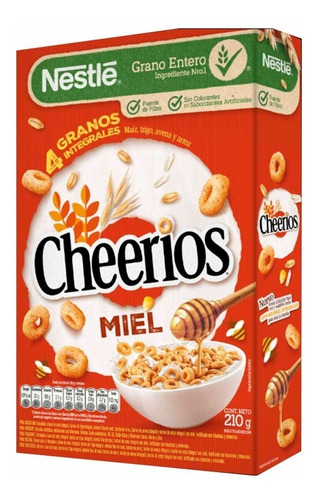 Cheerios Honey Cereal Matinal X 210 Gr