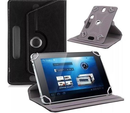 Capa Case Couro 360 Giratória Universal Tablet 10 Polegadas