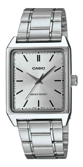 Relógio Casio Masculino Mtp-v007d 7eu Prata Analógico