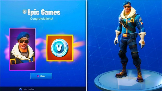 Fortnite Bomber Skin +500 V-bucks Europa Ps4 Cd Key Original