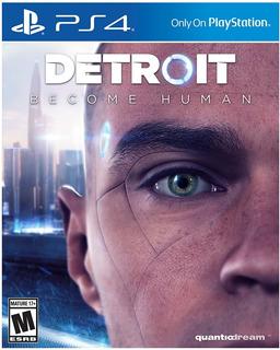 Detroit Become Human - Ps4 - Digital - Manvicio Store