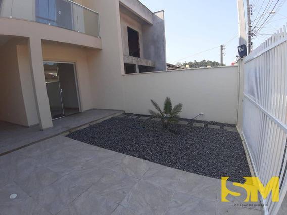Sobrado Com 3 Dormitórios Para Alugar Por R$ 1.500,00/mês - Santa Catarina - Joinville/sc - So0001