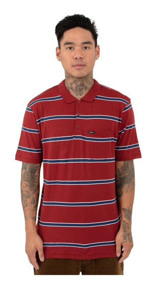Playera Brixton Hilt Washed Polo Original Vans Huf Stussy