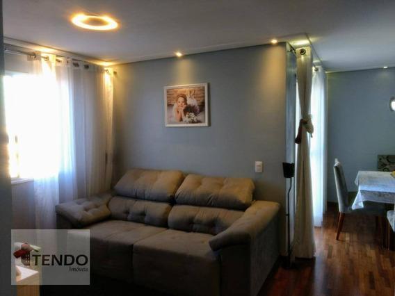 Apartamento 65 M² - 2 Dormitórios - 1 Suíte - Planalto - São Bernardo Do Campo/sp - Ap0760