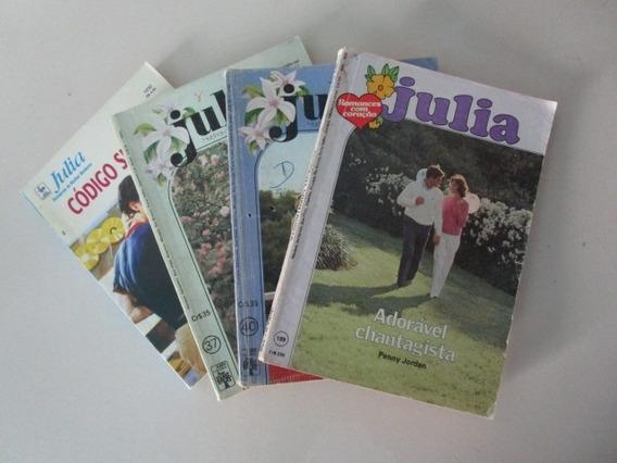 4 Livros Julia - Romances