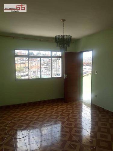 Casa Com Outras Casas No Quintal E Sem Vaga De Garagem Com 2 Dormitórios Para Alugar, 100 M² Por R$ 1.300/mês - Vila Francos - São Paulo/sp - Ca1001