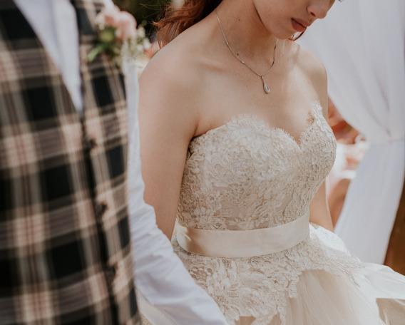 Vestido De Noiva Lazaro 3413