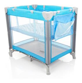Berço Portátil - Mini Play Pop - Blue - Safety 1st