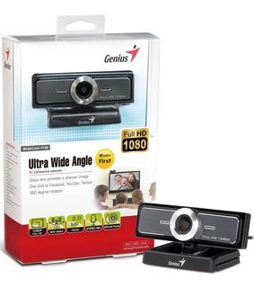 Webcam Genius F100 1080p Full Hd Streaming