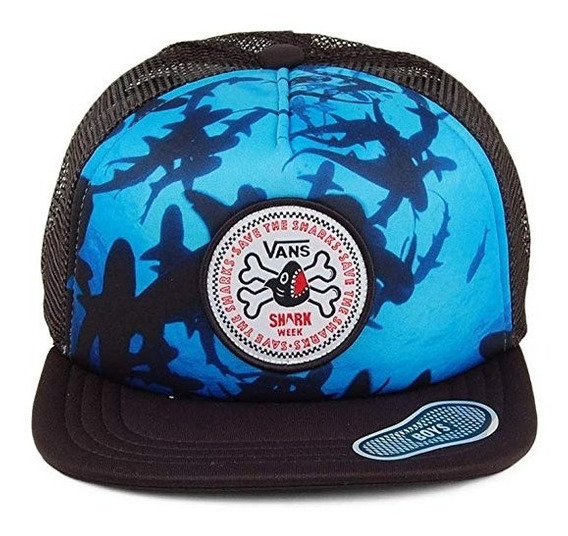 Gorra Vans Hombre Negro Shark Vn0a3i6tblk